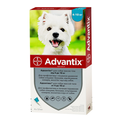 Bayer Advantix для собак от 4 до 10 кг