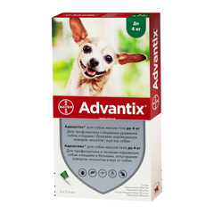 Bayer Advantix для собак до 4 кг