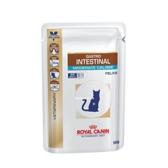 Лечебные консервы Royal Canin GASTRO-INTESTINAL MODERATE CALORIE FELINE Pouches