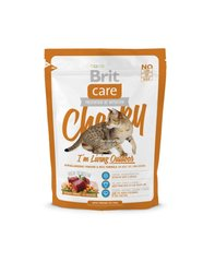 Brit Care Cat 0,4 kg Cheeky I am Living Outdoor (1+1)